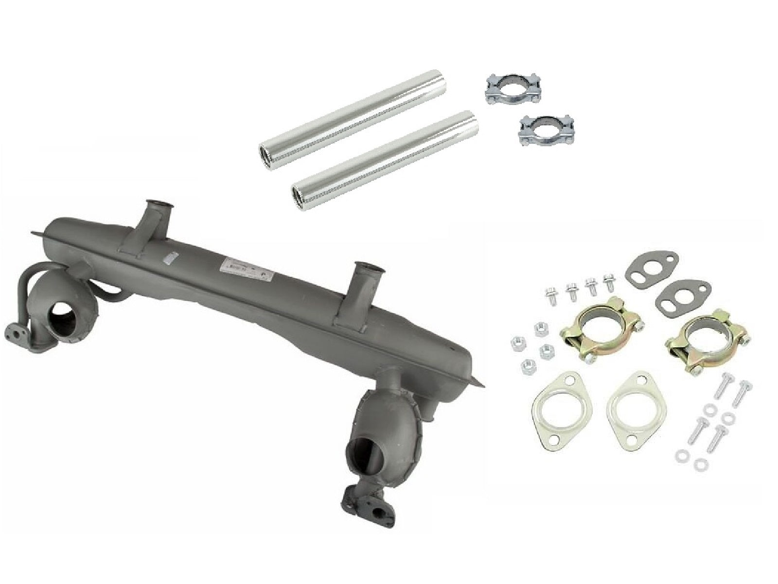 OEM Muffler Kit 1600cc Beetle Bus