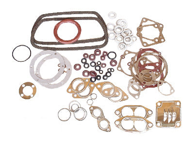 Engine Gasket Kit, 1300-1600, German with Flywheel Seal