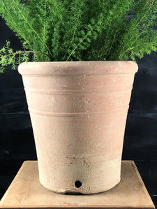 Handmade terracotta pot