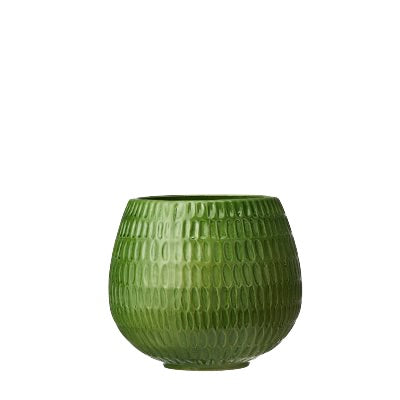 Green Glazed Coleta Pot Large