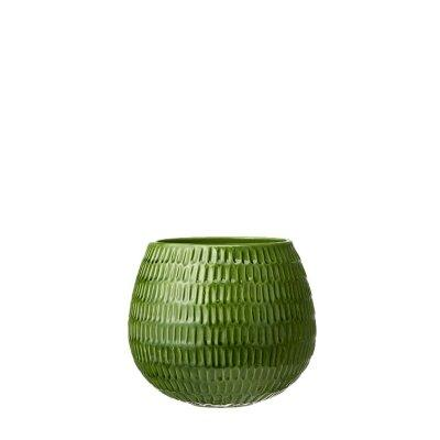 Green Glazed Coleta Pot Medium
