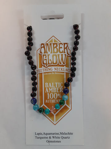 Amber Glow Teething Necklace