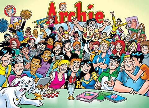 Archie and the Gang at Pops Puzzle