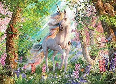 Unicorn in the Woods Puzzle