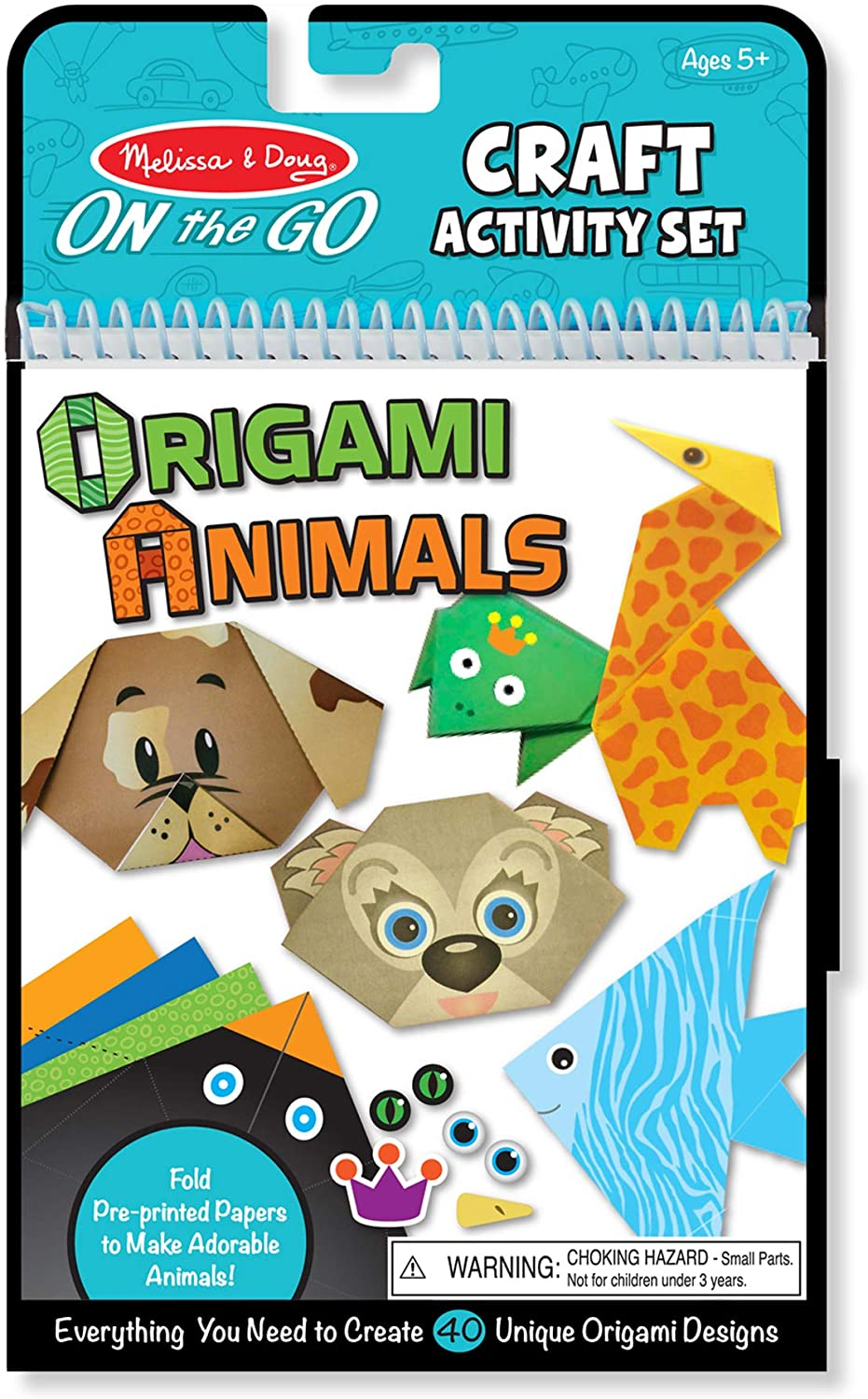 Melissa and Doug On the Go Crafts Origami Animals