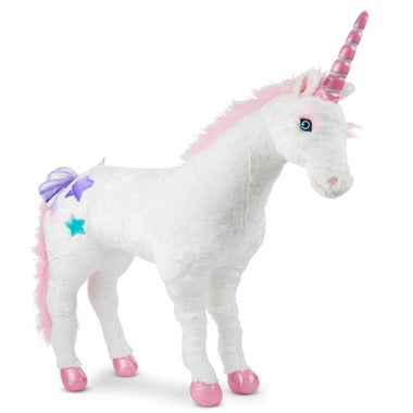 M&D Jumbo Unicorn Plush