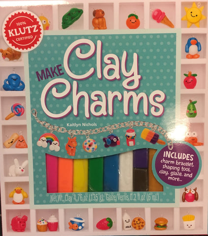 Make Clay Charms- Klutz