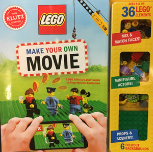 Make Your Own Lego Movie- Klutz