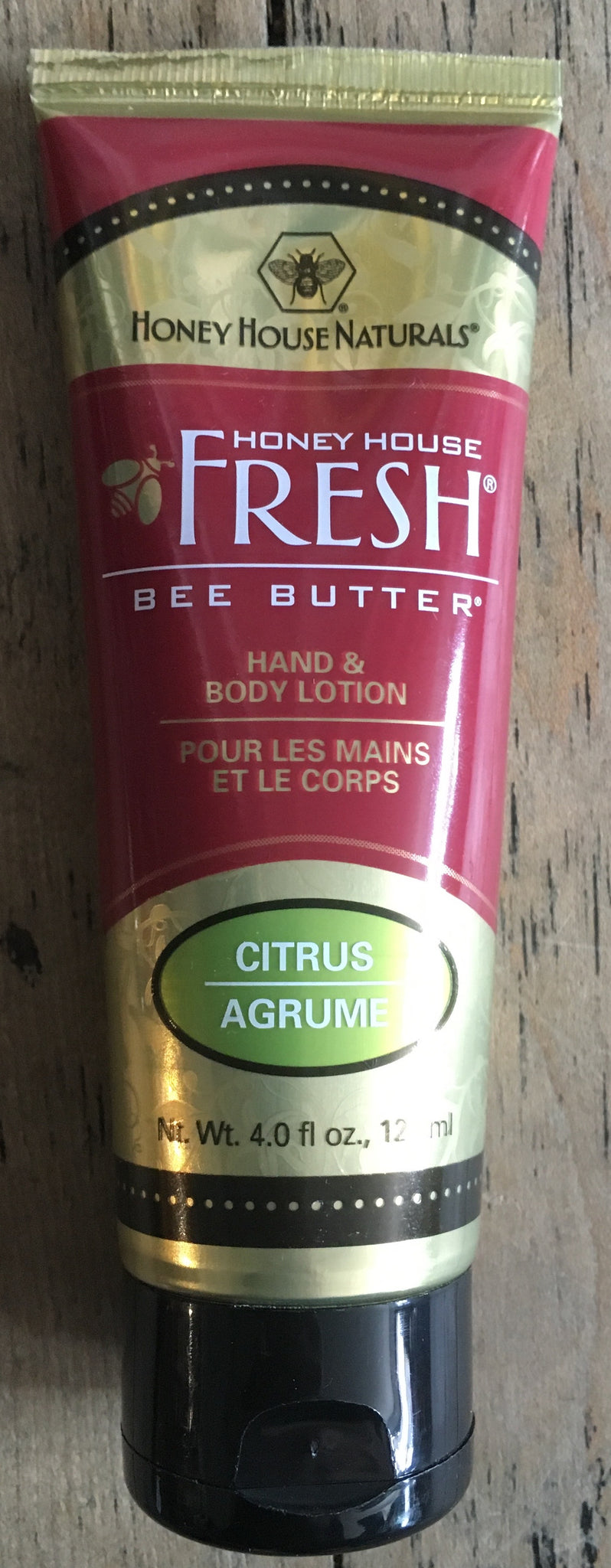 Citrus Scent Bee Butter-Hand and Body Lotion-120ml