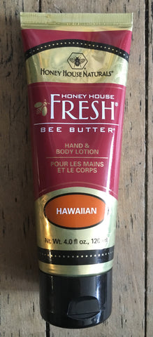 Hawaiian Scent Bee Butter-Hand and Body Lotion-120ml
