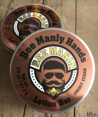 Bee Manly Hands-Solid Lotion Bar 57g