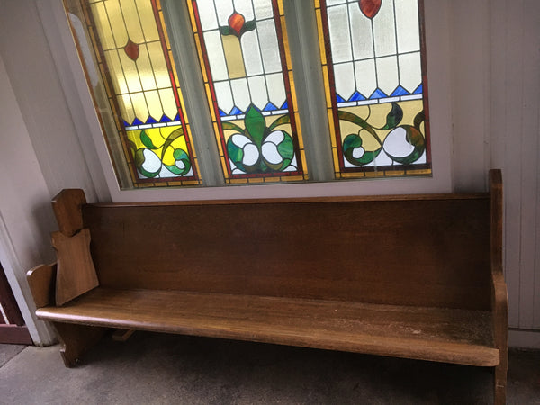 Church Pew Bench from First Presbyterian Church
