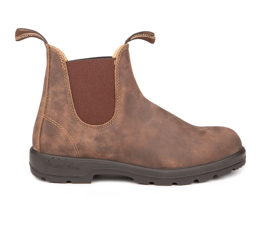 Blundstone-Leather Lined Rustic Brown 585