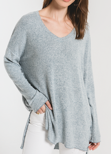 Sweater Knit Soft and Cozy Tunic Top
