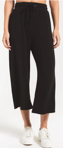 Premium Wide Legged Fleece Crop Pant
