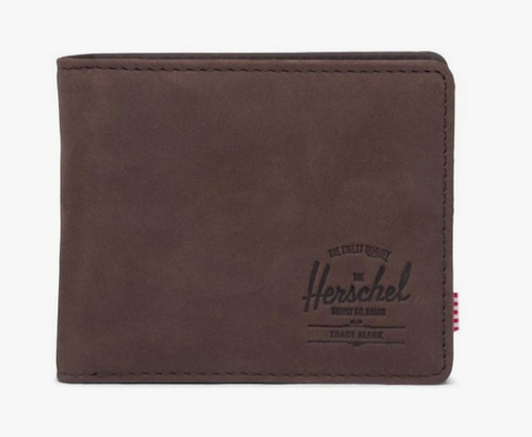 Herschel Hank Leather Wallet- Brown Leather
