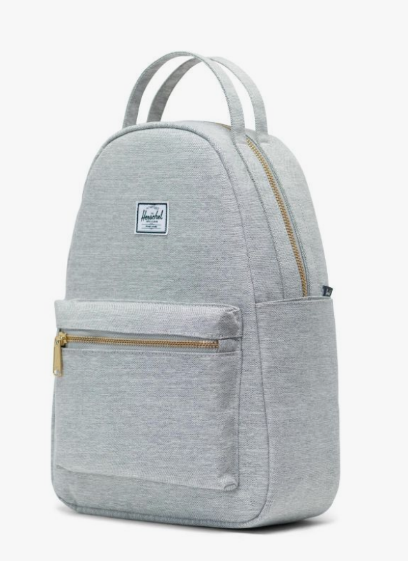 Herschel Nova Small Backpack-  Light Grey Xhatch