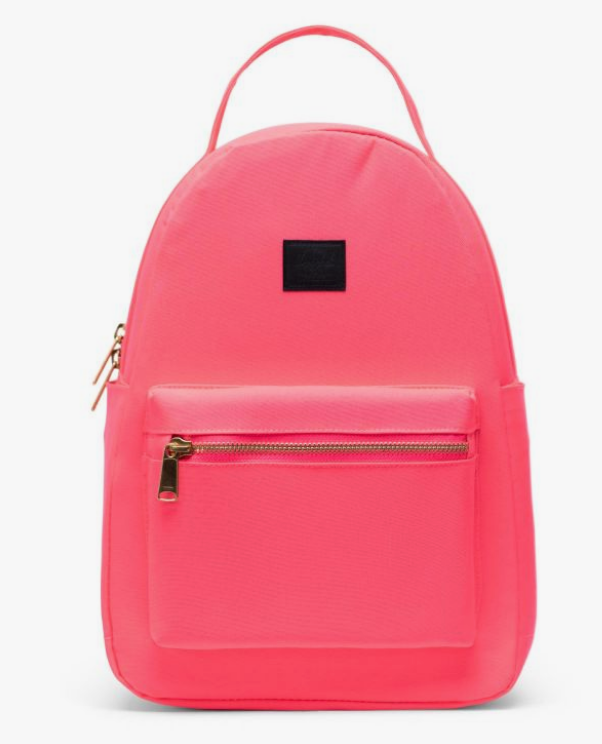 Nova Small Backpack- Neon Pink/Blk