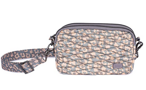 LUG- Coupe Leopard Pearl Mini Convertible Pouch