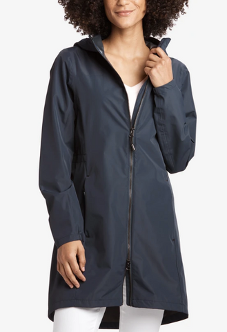 Lole Packable Rain Jacket-Marine Navy