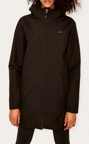 Lole Packable Rain Jacket-Black