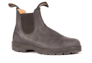 Blundstone-587- Leather Lined Rustic Black