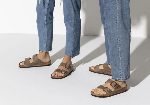 Birkenstock Arizona -  All Leather Sandal- Tobacco