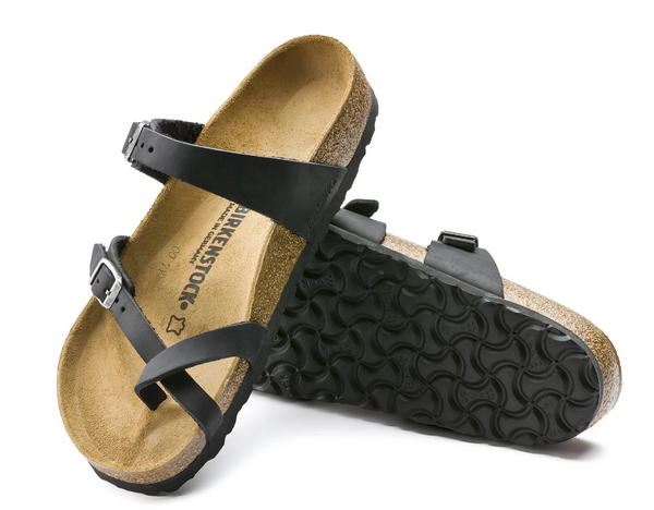 Birkenstock- Mayari Sandal-Black Oiled Leather