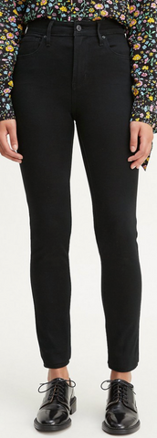LEVI 721 Highrise Skinny Jean for Women- Black