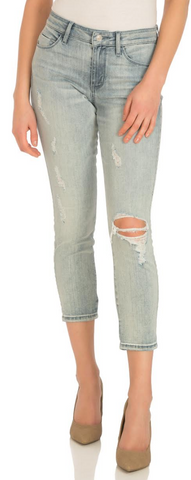 Guess- Distressed Sexy Curve Crop Jean