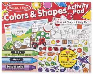 Melissa & Doug Activity Pad - Colors & Shapes