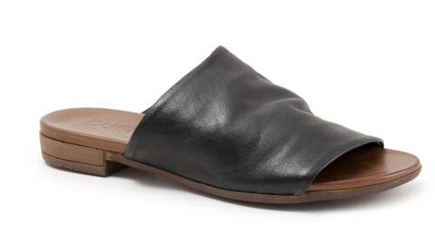 Bueno Leather Slide-Genuine Leather- Black