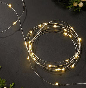 Extra Long String Light-Fairy lights on 30ft cord
