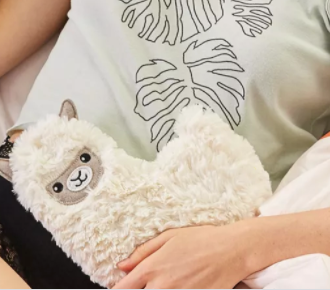 Huggable Llama Lavender Heating and Cooling Pad