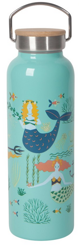 Mermaids Roam Water Bottle