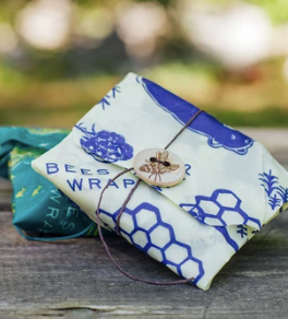 Bee's Wrap - Oceans + Bees & Bears 2 Pack Sandwich Wrap