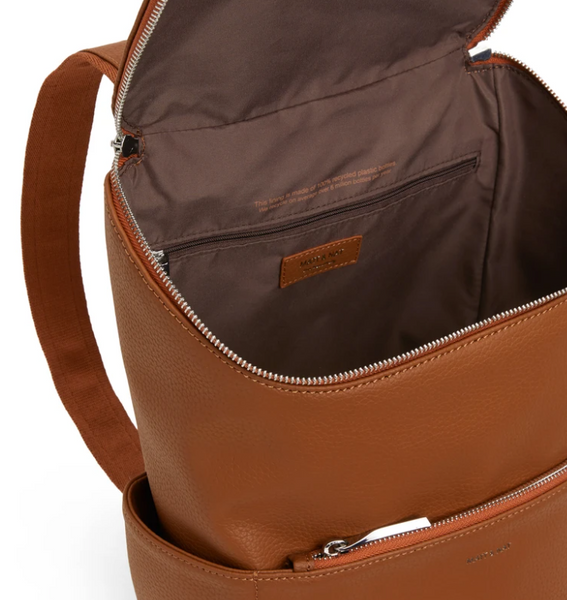Matt & Nat- BRAVE Backpack- PURITY LOOM Fabric- CAROTENE TAN