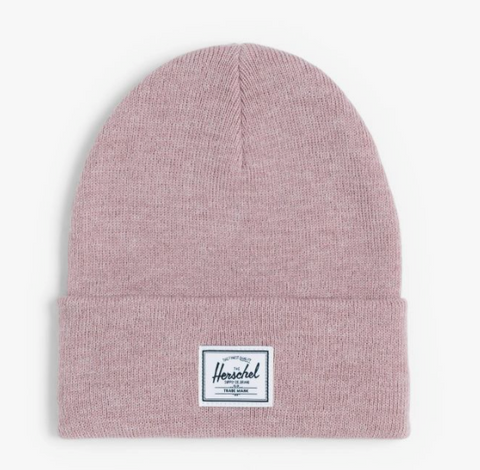 Herschel Hat- Elmer Beanie-HEATHER ASH ROSE