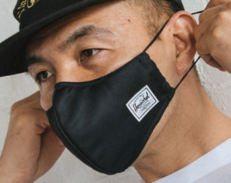 Herschel Fitted Face Mask- ALL COLORS!