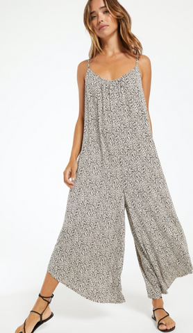 MINI LEOPARD PRINT JUMPSUIT
