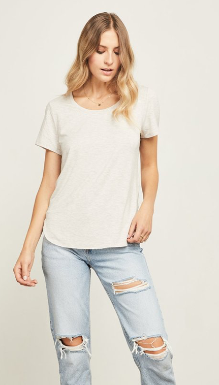 Alabama T-shirt-Gentle Fawn-  HEATHER TAUPE