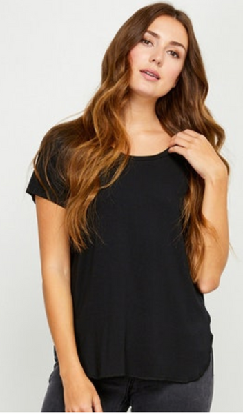Alabama Rayon T-shirt- Gentle Fawn