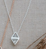 Glee Affinity Necklace- Gold or Silver