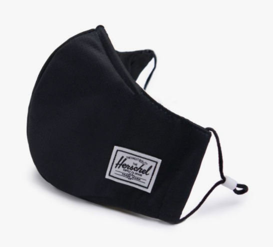 Herschel Fitted Face Mask- select to see all colors