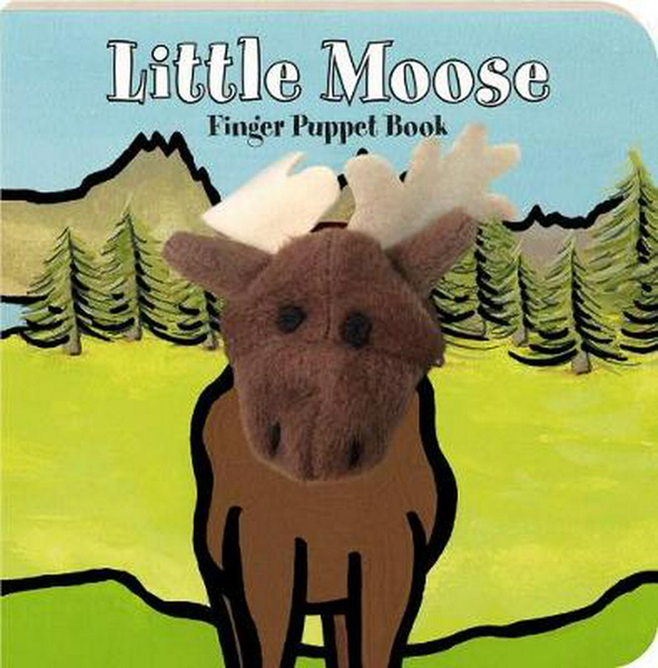 Little Moose Finger Puppet Book
