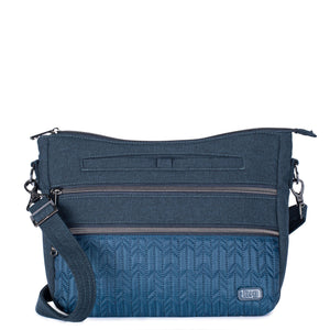 LUG- Slider Indigo Navy Crossbody Bag