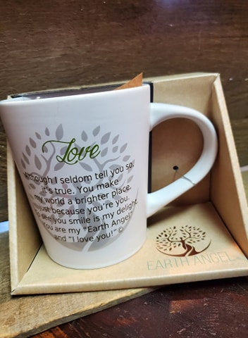 "Earth Angels ""Love  Mug"""