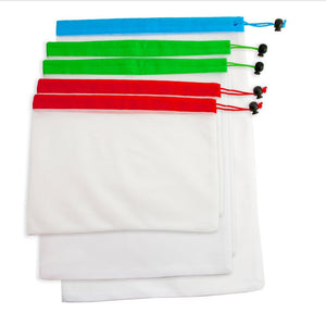 Set Of 5 Reusable Produce Bags