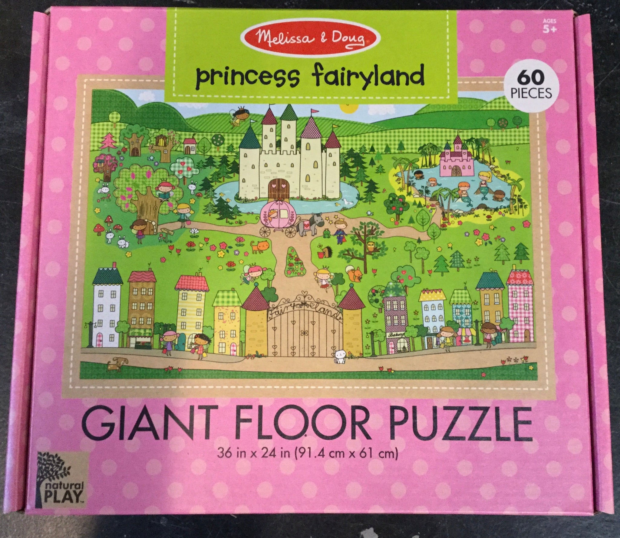 Princess Fairyland Giant Floor Puzzle