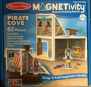 "Magnetivity Magnetic Building Play Set  ""Pirate Cove"""
